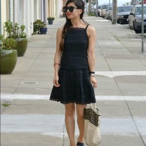 Nanette Lepore Eyelet Dress Sz 6 (O12)
